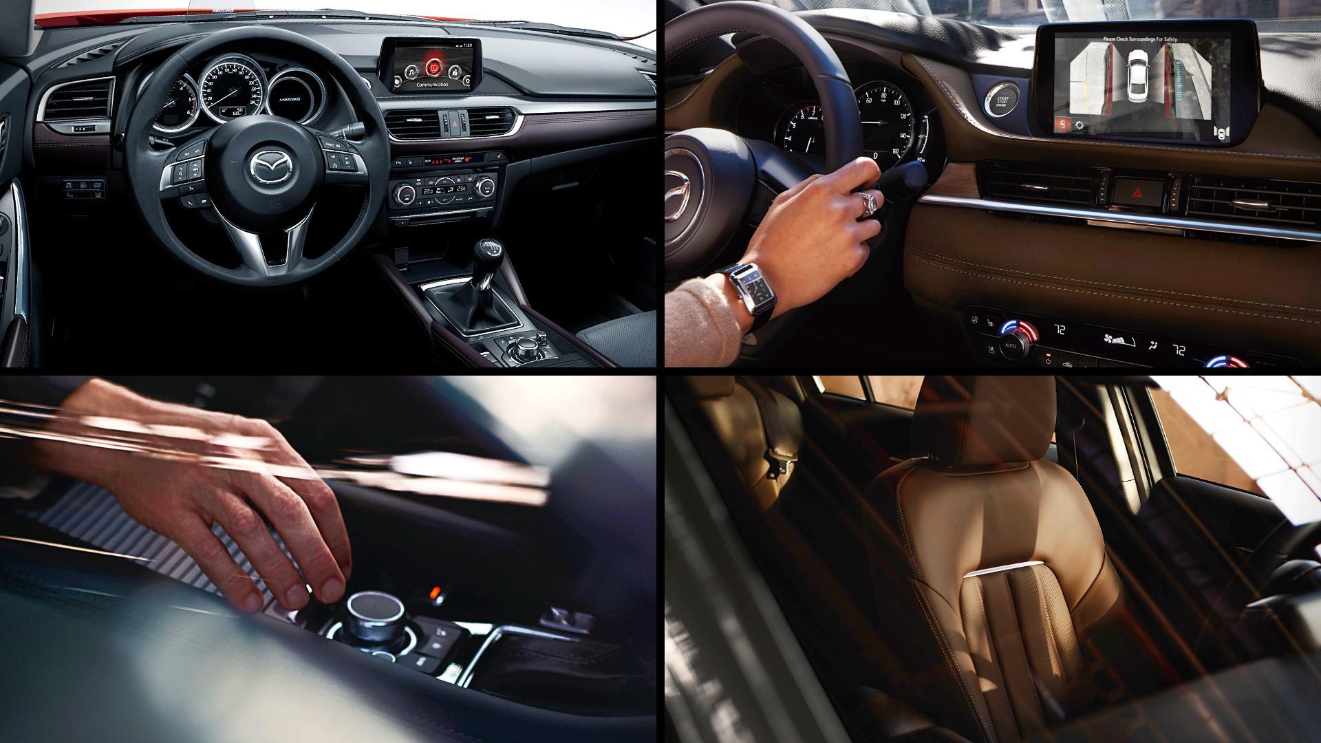2020 Mazda 6 Hatchback Interior Images