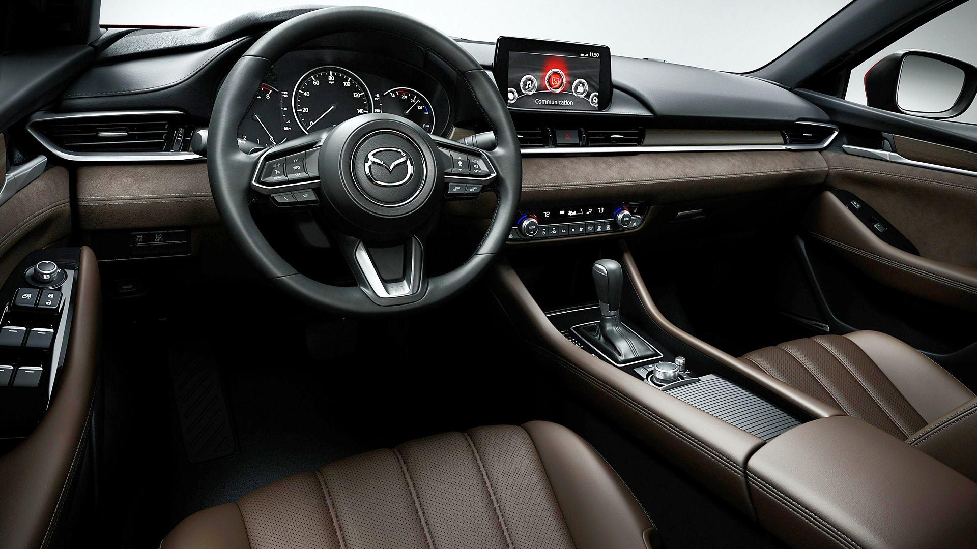 2020 Mazda 6 Interior Inside