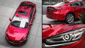 2020 Mazda 6 Red