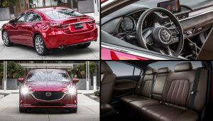 2020 Mazda 6 Red Car Photos Hatchback Inside
