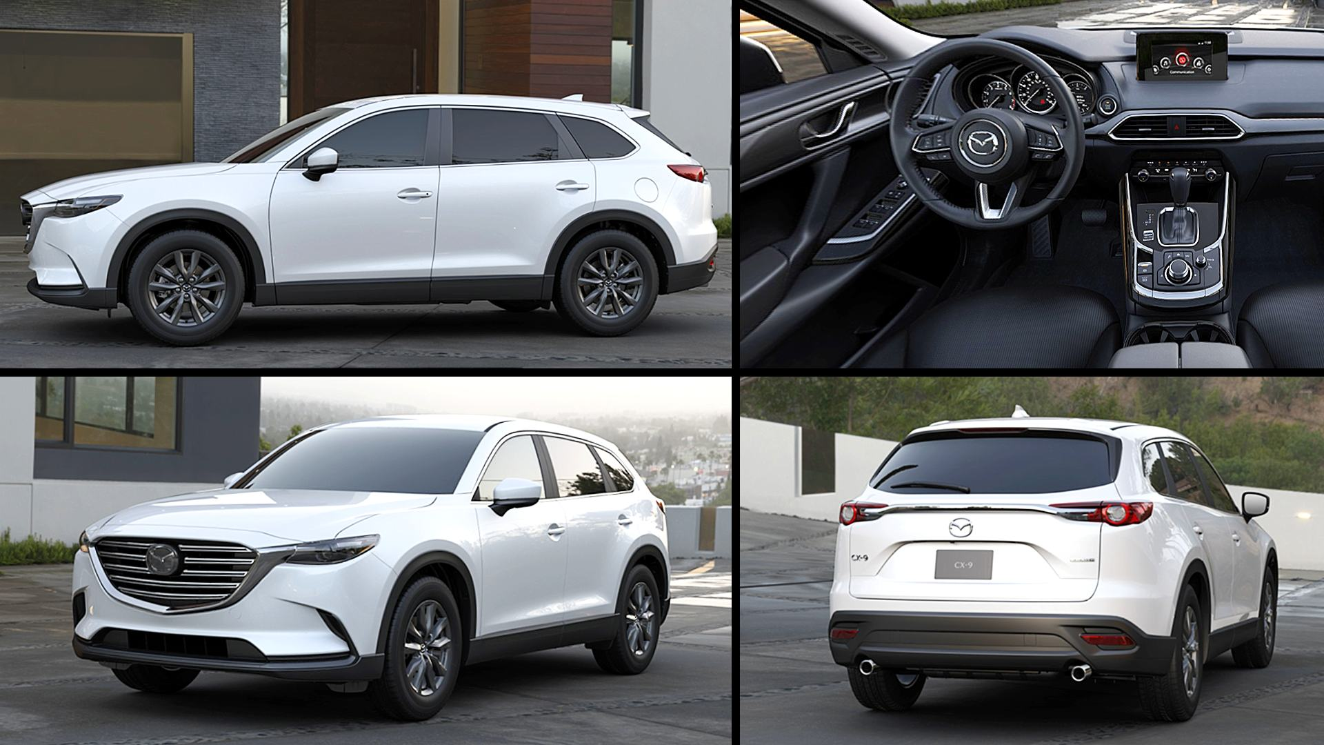 2020 MAZDA CX-9 Sport White Photos