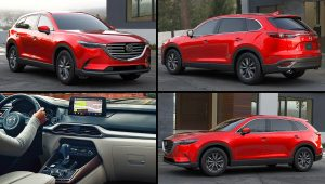 2020 MAZDA CX-9 Touring Red Pictures
