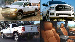 2020 Ram 2500 Laramie White Pickup Truck Images