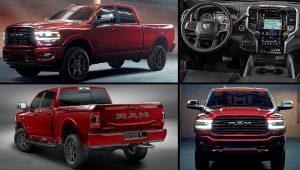 2020 Dodge Ram 2500 Laramie Night Edition Red Pickup Truck