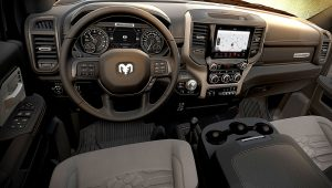 2020 Ram 2500 Power Wagon Interior