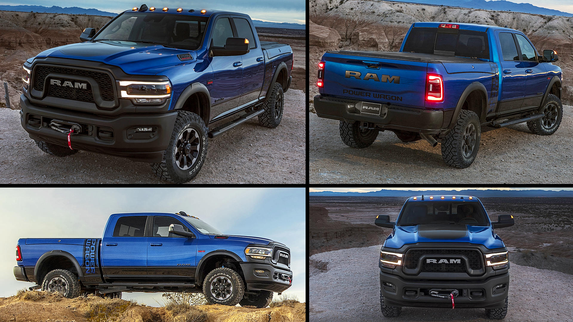2020 dodge ram 2500 power wagon blue pickup