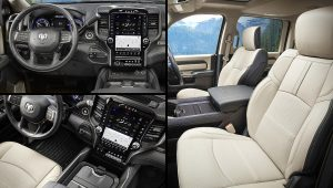 2020 Ram 3500 Limited Mega Cab Interior