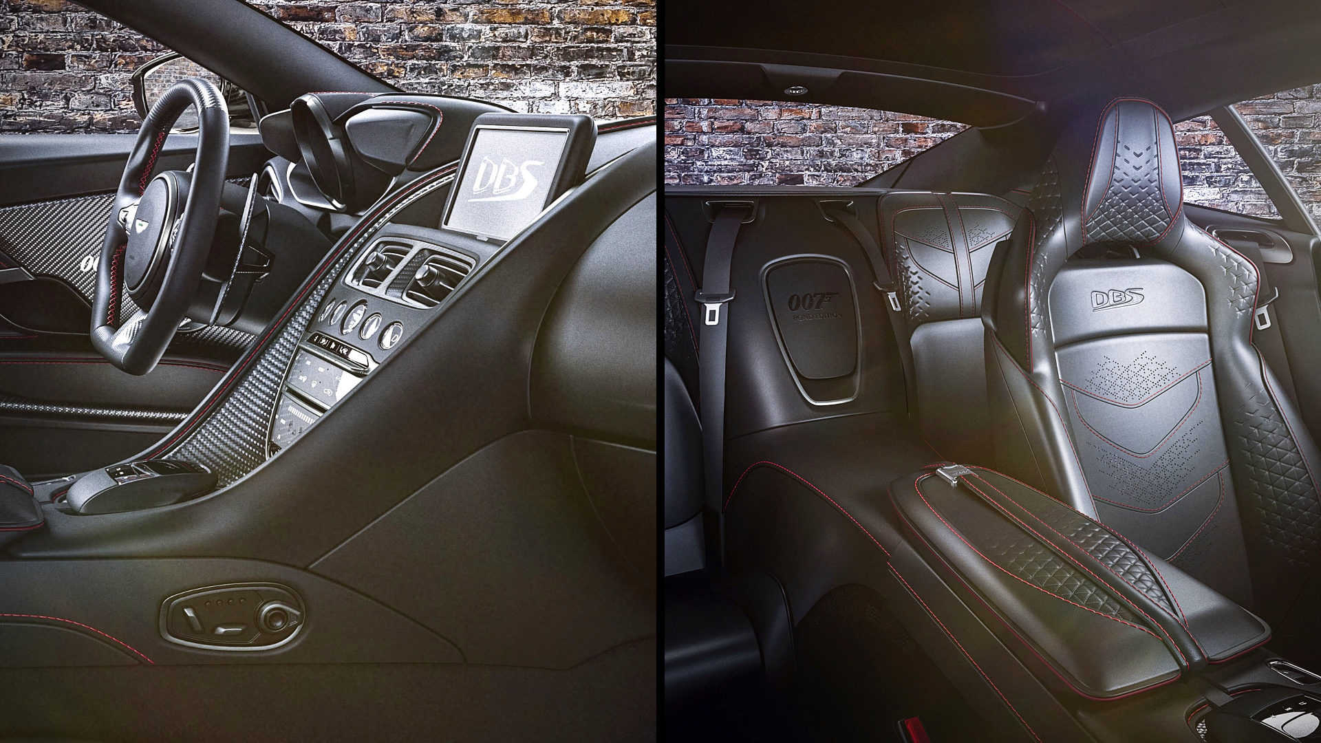 2021 Aston Martin Dbs Superleggera 007 Edition Interior