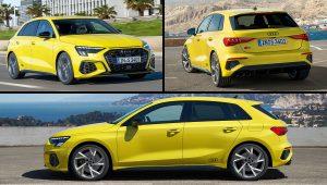 2021 Audi S3 Sportback USA