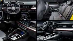 2021 Audi S3 Sportback Inside Interior