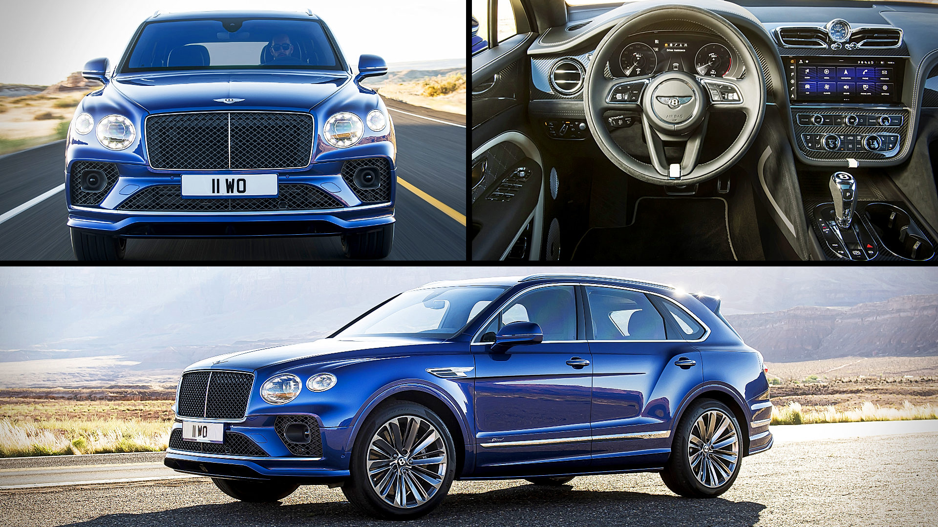 2021 Bentley Bentayga Speed Images