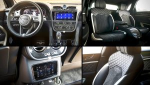 2021 Bentley Bentayga Speed Inside Interior