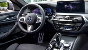 2021 BMW 545e xDrive Interior