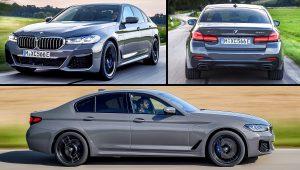2021 BMW 545e xDrive Sedan