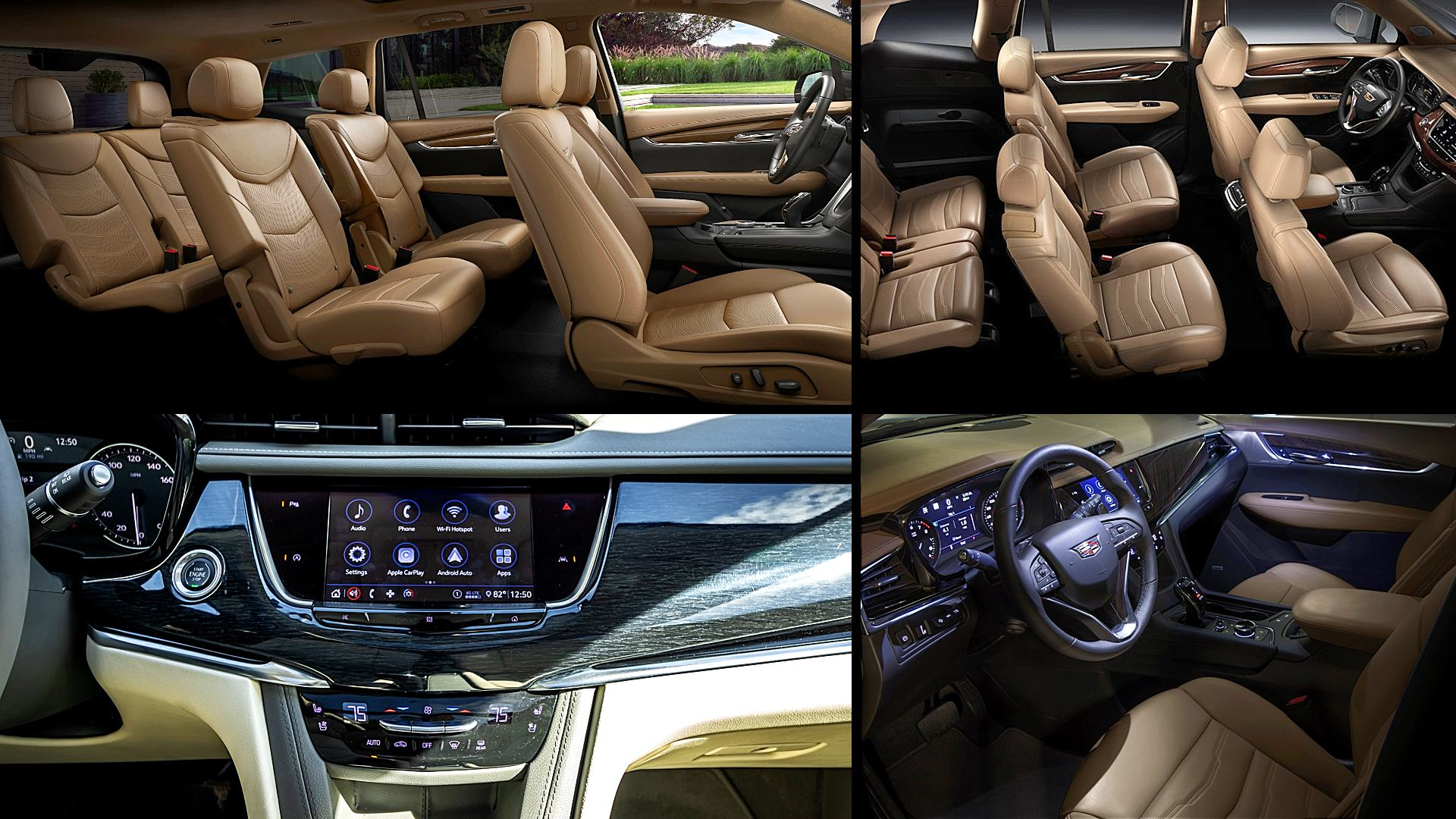 2021 Cadillac XT6 Luxury Interior