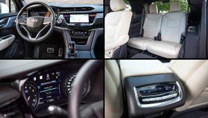 2021 Cadillac XT6 Sport Interior Images