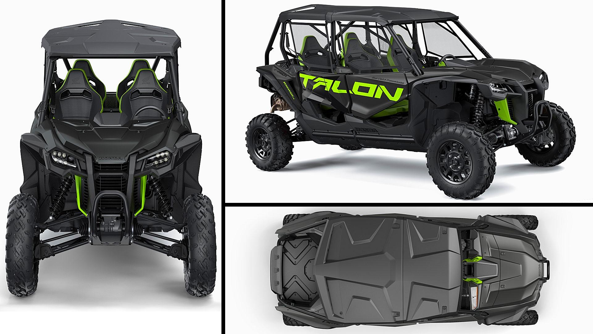 2021 Honda Talon 4 Seater 1000X-4