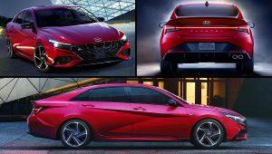2021 Hyundai Elantra N Line Red