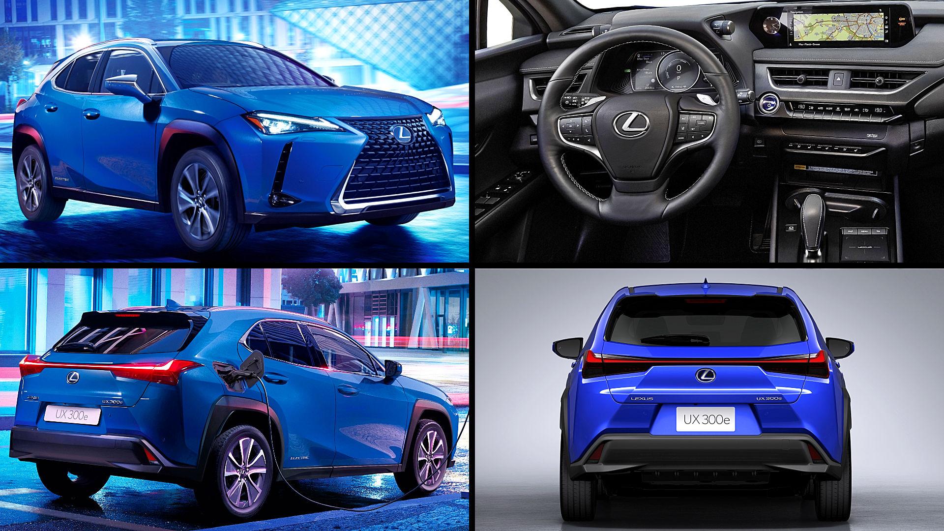 2021 Lexus Ev Suv Ux Electric Car Images
