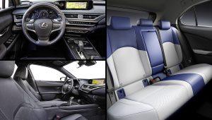 Lexus UX 300e 2021 Crossover Electric Car Interior Images