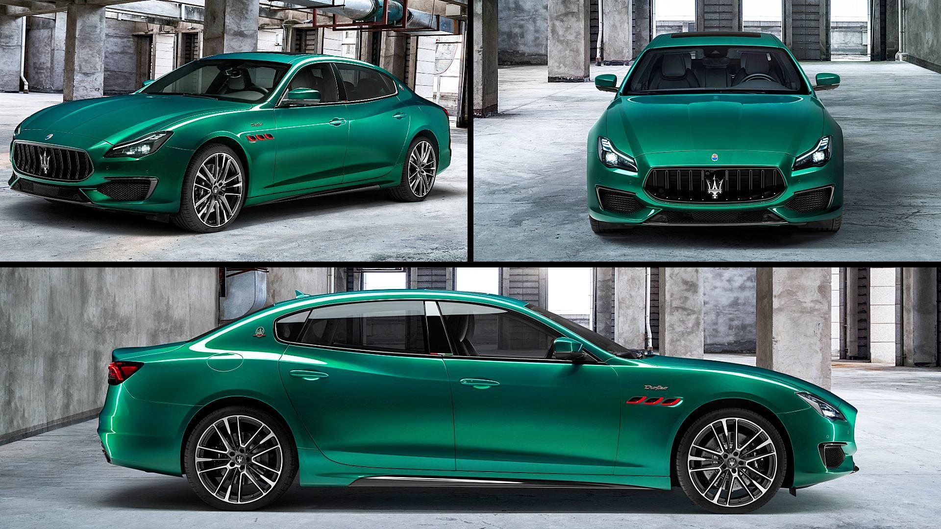 2021 Maserati Quattroporte Trofeo Images