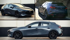 2021 Mazda 3 Turbo AWD Hatchback Pictures