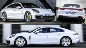 2021 Porsche Panamera 4S Hybrid White