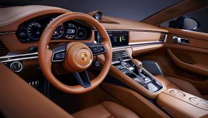 2021 Porsche Panamera 4S E-Hybrid Sport Turismo Interior