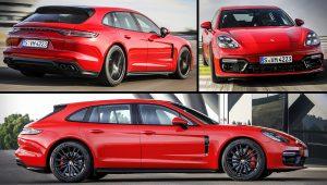2021 Porsche Panamera GTS Sport Turismo Red