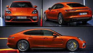 2021 Porsche Panamera Turbo S Pictures