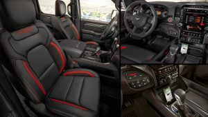 2021 Ram 1500 TRX Inside Interior Pictures