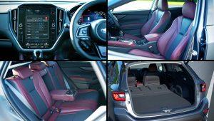 2021 Subaru Levorg Inside Interior