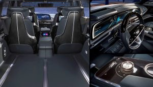 Cadillac Lyriq SUV Interior Images