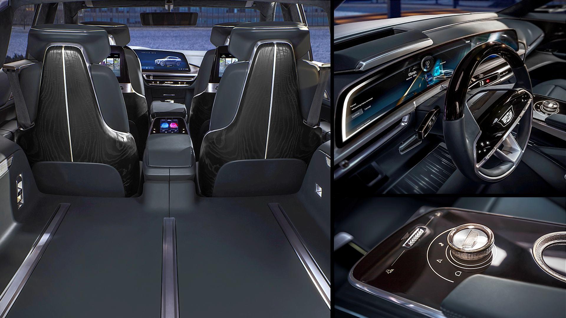 Cadillac Lyriq SUV Interior Images