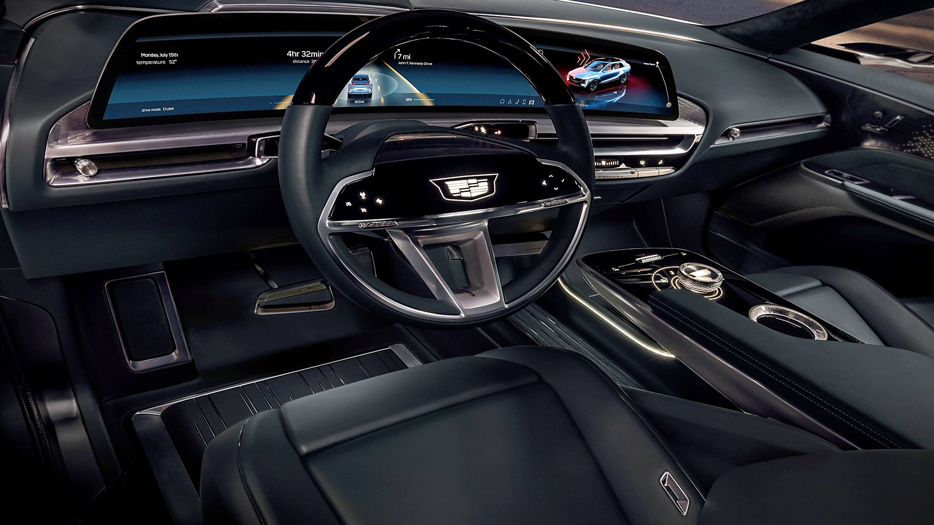 2023 Cadillac Lyriq Interior Inside