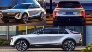 2023 Cadillac SUV Models Lyriq Images