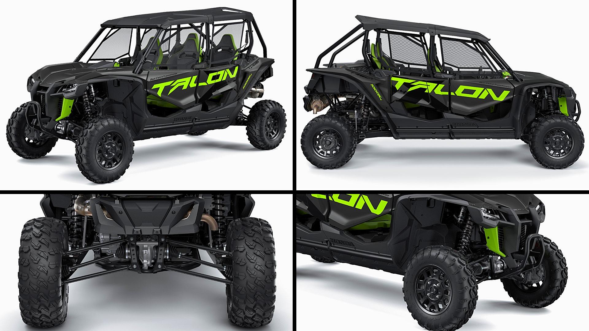 4 Seater UTV 2021 Honda Talon 1000X-4