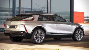 Cadillac EV Models Lyriq SUV Cars Photos Images