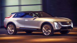 Cadillac Lyriq Electric Car Photos