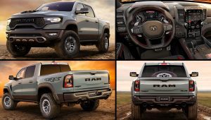 Dodge Ram 1500 TRX Best Pickup Truck 2021