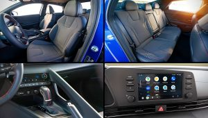2021 Hyundai Elantra N Line Interior Inside