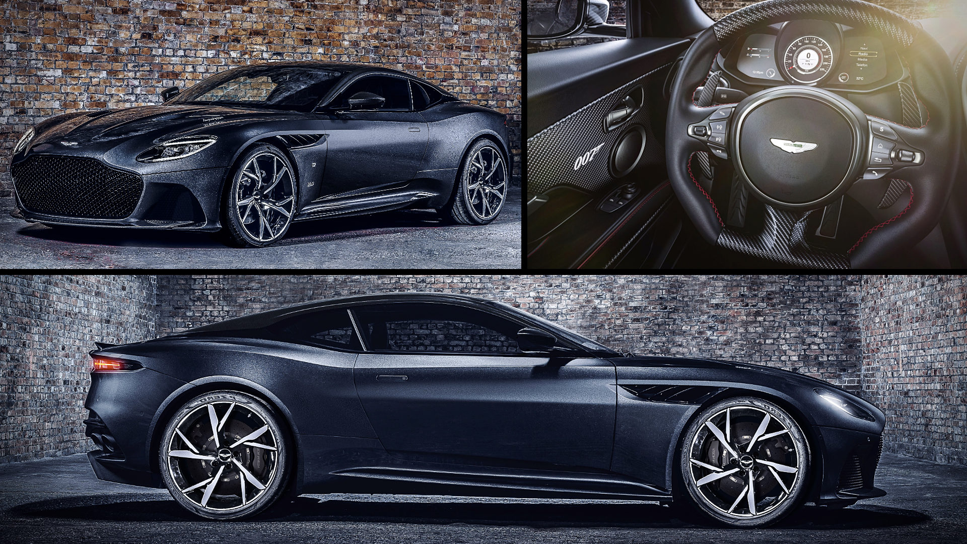 James Bond Car 2021 Aston Martin DBS Superleggera