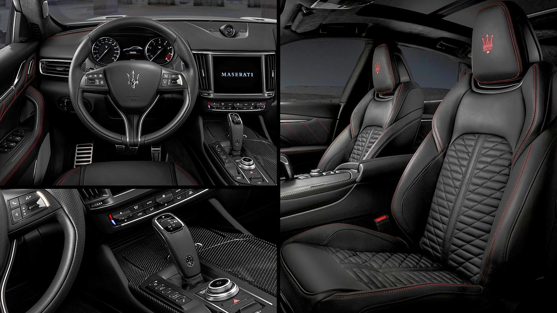 2021 Maserati Levante Trofeo Interior