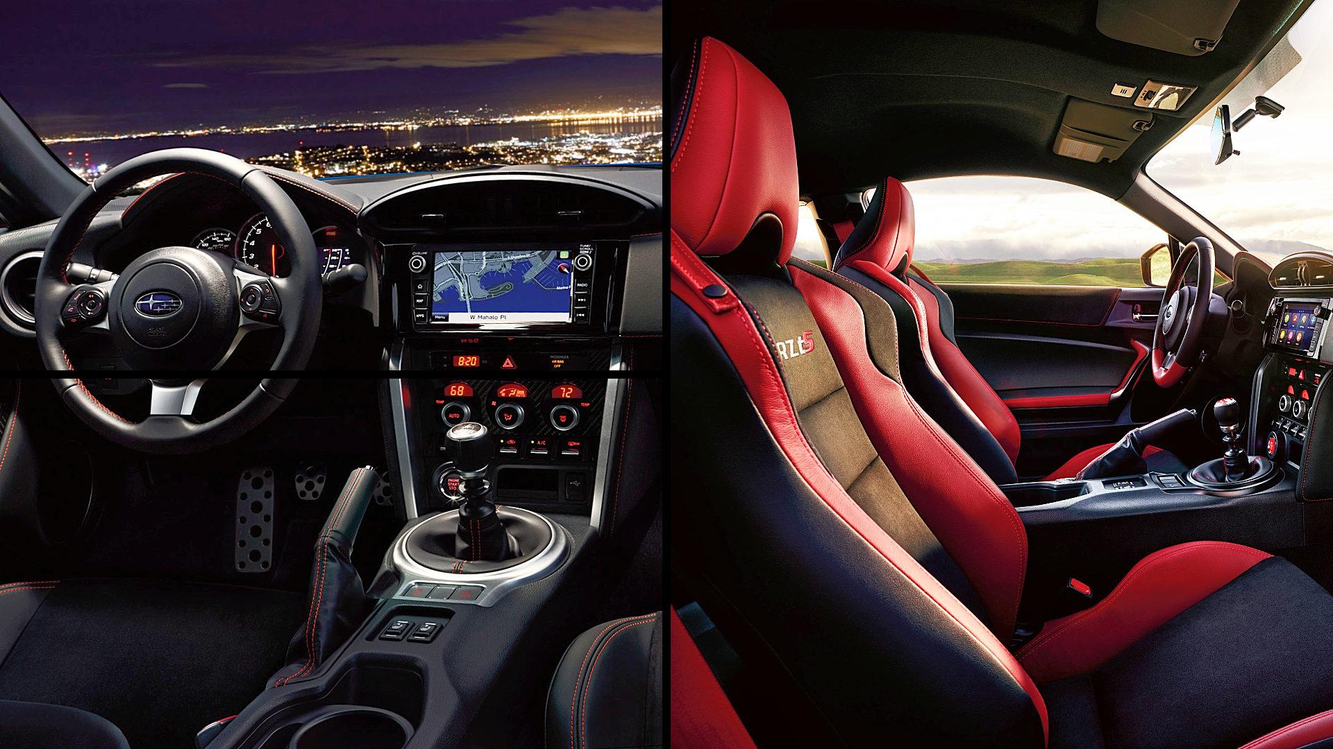 2020 Subaru BRZ TS Interior Inside