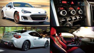 2020 Subaru BRZ TS White Sports Coupe