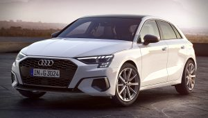 2021 Audi A3 E-Tron Sportback White