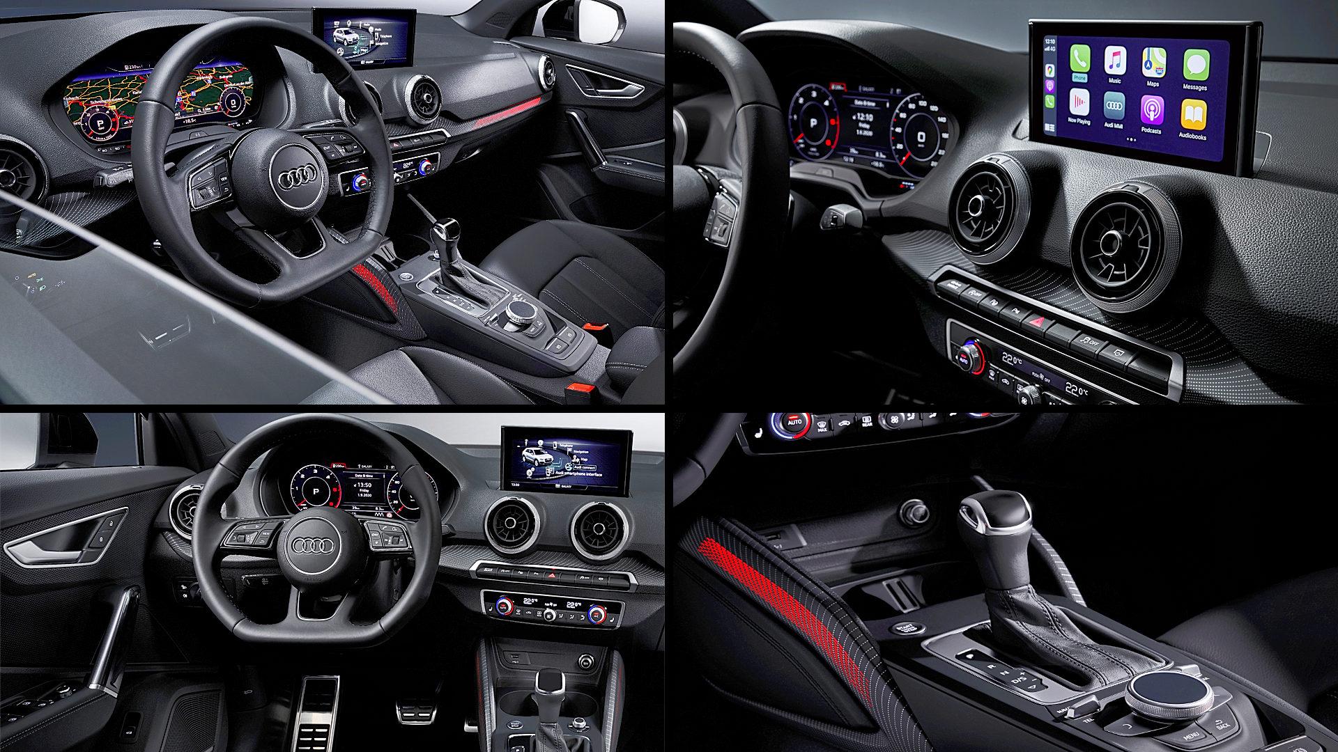 2021 Audi Q2 S Line Interior