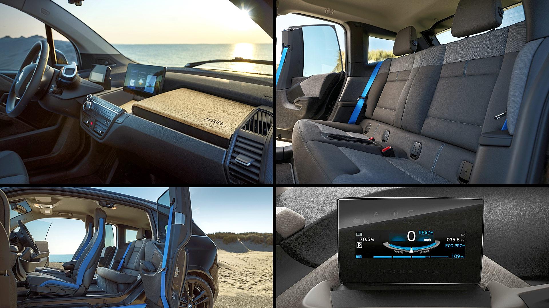 2021 BMW i3 Electric Sedan Interior Inside