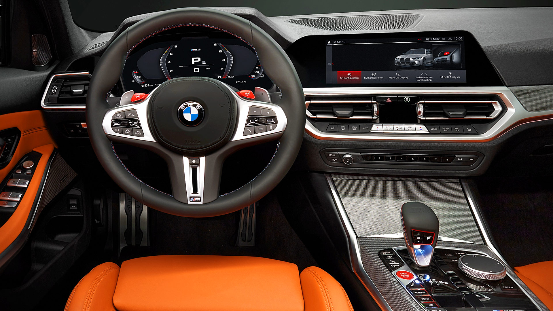 2021 BMW M3 Interior Inside