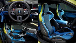 2021 BMW M4 Coupe Interior